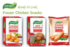 Frozen Chicken Snacks - Chicken Nuggets & Sausage